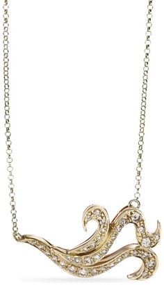 H.Stern Mixed Gold And Diamond Iris Necklace