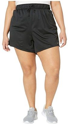 Nike Plus Size Dry Shorts Attack 2.0 TR 5 (Black/Particle Grey) Women's Shorts