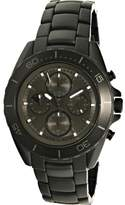 Michael Kors Men's Jetmaster MK8517 Black Stainless-Steel Analog Quartz Fashion Watch