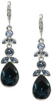 Givenchy Faceted Pear-Shaped Drop Earrings
