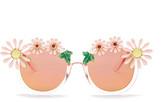 Cara Accessories Women's Daisy Retro Sunglasses