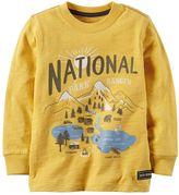 """Carter's Toddler Boy National Park Ranger"""" Applique Graphic Tee"""