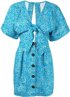 SUBOO Maggie Jungle mini dress