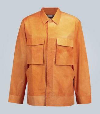 Jacquemus La Chemise Soleil tie-dye shirt