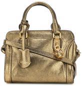 Alexander McQueen mini Padlock crossbody bag - women - Calf Leather - One Size