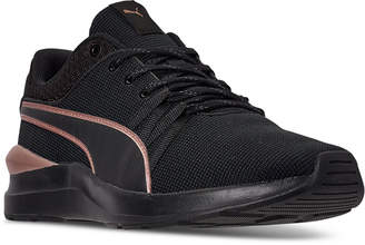Puma Women Adela Knit Effect Casual Sneakers from Finish Line