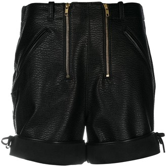 Philosophy di Lorenzo Serafini Front Zipped Shorts