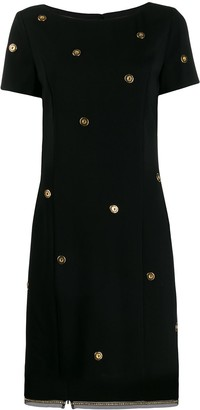 Class Roberto Cavalli button shift dress