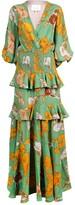 Johanna Ortiz voila, it's art maxi dress
