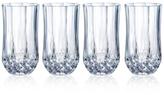 Longchamp Set of 4 Highball Glasses