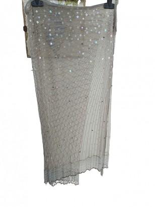 Roberto Cavalli Silver Lace Swimwear for Women
