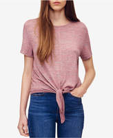 Calvin Klein Jeans Tie-Front T-Shirt