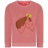 Oilily OililyGirls Horse Applique Helt Sweater