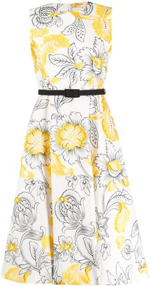 Erdem Farrah floral embroidered dress