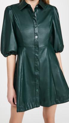 En Saison Button Down Mini Dress