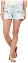 Paige Indio Zip Short in Powell No Whiskers