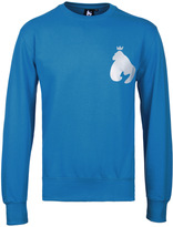 Money Blue Reflective Ape Crew Neck Sweatshirt