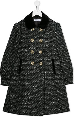 Dolce & Gabbana Knitted Style Coat