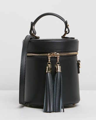 Florence - Women's Black Leather bags - Viola - Size One Size at The Iconic