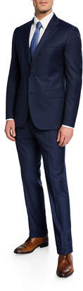 Neiman Marcus Men's Dot Two-Piece Suit