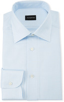Ermenegildo Zegna Men's Gingham Dress Shirt