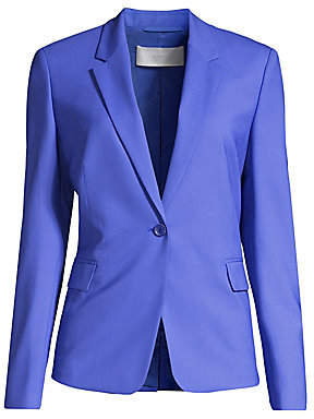 BOSS Women's Jeniver Regular-Fit Colored Stretch Wool-Jacket