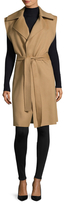 Jil Sander Wool Belted Wrap Vest