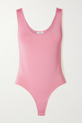 Casasola CASASOLA - Stretch-knit Thong Bodysuit - Baby pink