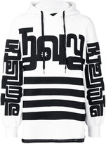 Kokon To Zai side zipped hoodie