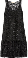 MICHAEL Michael Kors Sequin-embellished Tulle Dress - Black