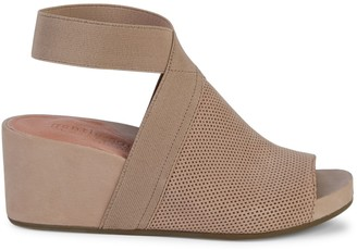 Gentle Souls Gianna Suede Wedge Sandals