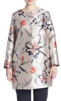 Marina Rinaldi, Plus Size Neomi Floral Jacquard Topper