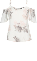 City Chic Whimsy Floral Top