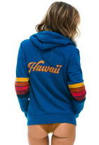 Aviator Nation Hawaii Patch Zip Hoodie