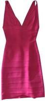 Herve Leger Pink Dress for Women