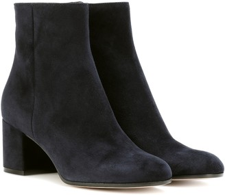 Gianvito Rossi Margaux suede ankle boots
