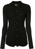 Julien David 3D Thorn shirt - women - Cotton - S