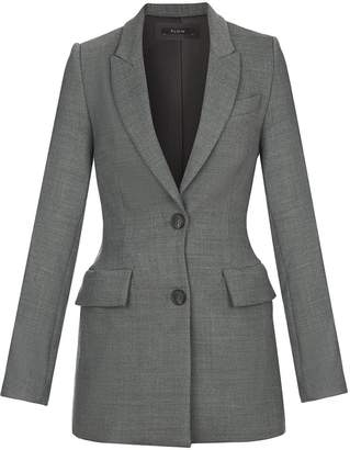Flow Tailored Blazer In Grey