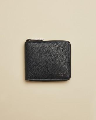 Ted Baker WORNER Leather zip-up wallet