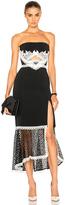 Jonathan Simkhai Window Pane Lace Dress