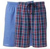 Hanes Men's Classics 2-pack Plaid Woven Jams Shorts