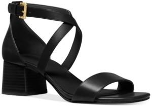 Michael Kors Michael Diane Block Heel Dress Sandals Women's Shoes