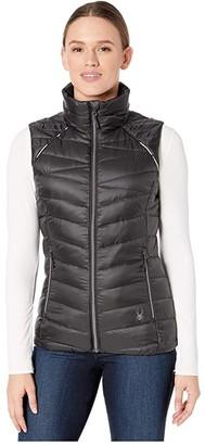 Spyder Timeless Down Vest (Black) Women's Coat