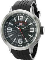 U.S. Polo Assn. Men's Dial Rubber Strap Watch US9054