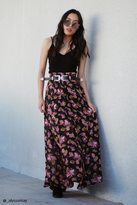 Forever 21 Contemporary Floral Maxi Skirt