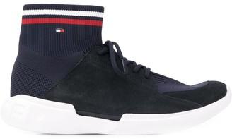 Tommy Hilfiger Tri-Stripe Sock Sneakers