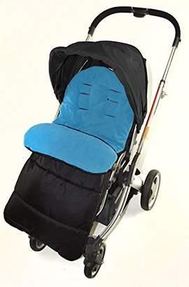 Koochi Footmuff/Cosy Toes Compatible with Litestar Travel Pushchair Ocean Blue