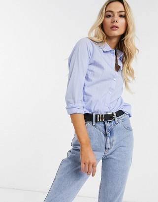 JDY shirt in blue stripe