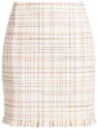 Akris Punto Tweed Mini Skirt
