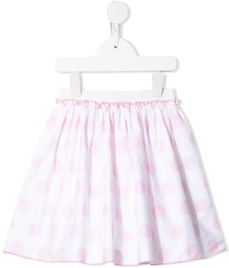 Il Gufo Polka Dot Pull-On Skirt
